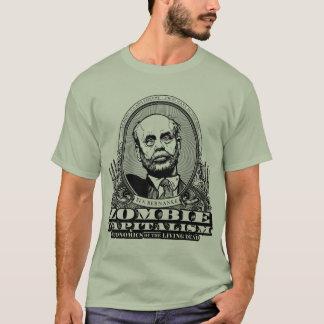 T-shirt Chemise de capitalisme de zombi