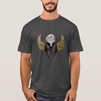 T-shirt Chemise de casque et d'ailes