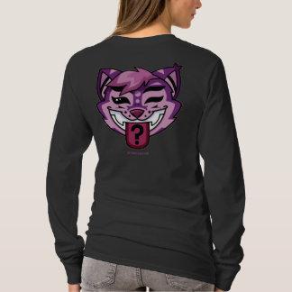 T-shirt chemise de chat de Cheshire