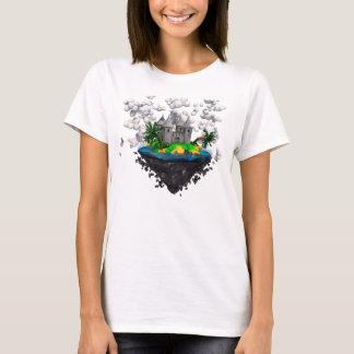 T-shirt Chemise de château de vol