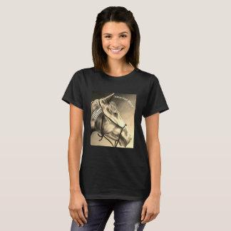 T-shirt Chemise de cheval, chemise de chevaux, chemise