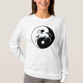 T-shirt Chemise de cheval de Yin Yang