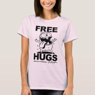 """T-shirt Chemise de chien de Bill Plympton """"d'étreintes"""