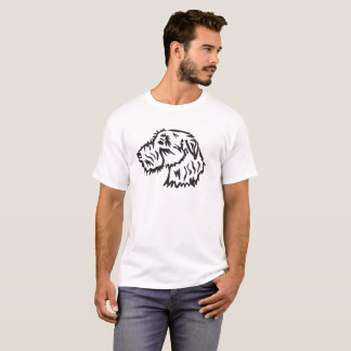 T-shirt Chemise de chien de chien-loup irlandais
