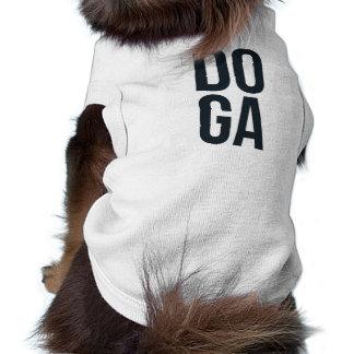 """T-shirt Chemise de chien de """"Doga"""""""