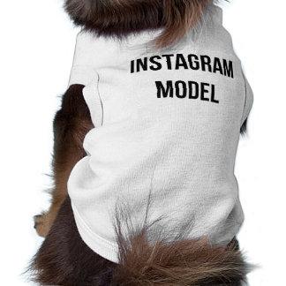 """T-shirt Chemise de chien """"de modèle d'Instagram"""""""