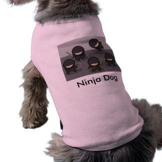 T-shirt Chemise de chien de Ninja
