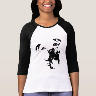 T-shirt Chemise de chien de Pitbull