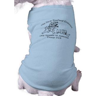 T-shirt Chemise de chienchien de la troupe 219 de DSA