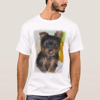 T-shirt Chemise de chiot de Zach
