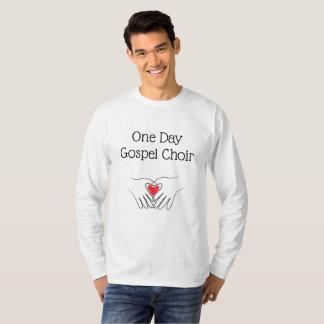 T-shirt Chemise de choeur d'évangile jour