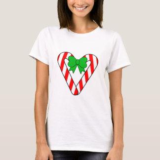 T-shirt Chemise de coeur de sucre de canne