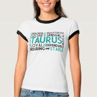 T-shirt Chemise de collage de mot de Taureau