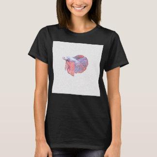 T-shirt Chemise de combat de conception de poissons de