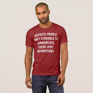 T-shirt Chemise de communication