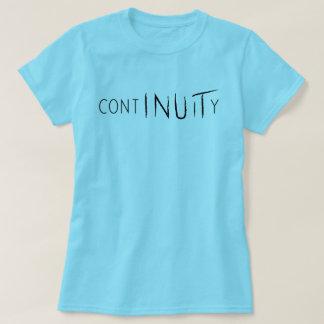 T-shirt Chemise de continuité cyan