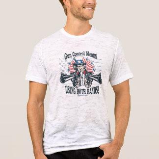 T-shirt Chemise de contrôle des armes d'Oncle Sam