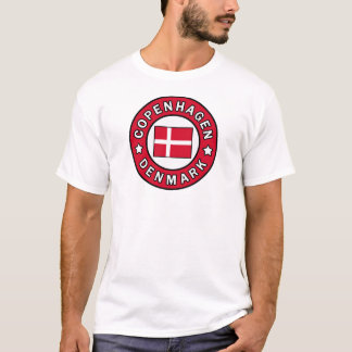 T-shirt Chemise de Copenhague Danemark