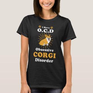 T-shirt Chemise de corgi d'OCD