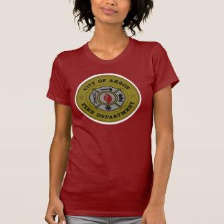 T-shirt Chemise de corps de sapeurs-pompiers d'Akron Ohio