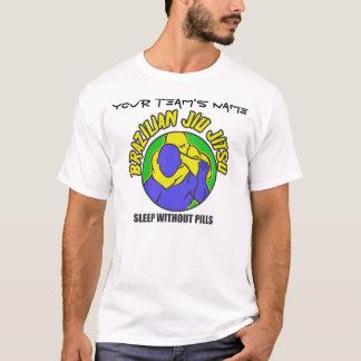T-shirt chemise de coutume de bjj