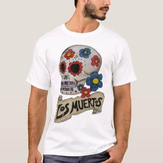 T-shirt Chemise de crâne de visibilité directe Muertos