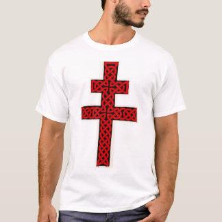 T-shirt Chemise de croix de Lorraine de Celtic