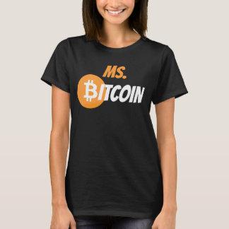 T-shirt Chemise de Cyrptocurrency de chaîne de bloc de Mme