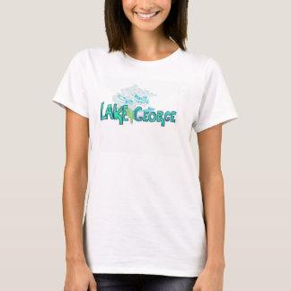T-shirt Chemise de dames de George de lac