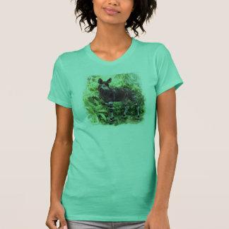 T-shirt Chemise de dames d'okapi de jungle