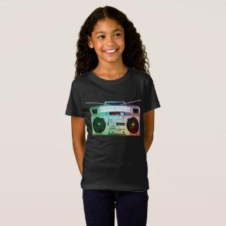 T-Shirt Chemise de danse de filles de caisson de basses de