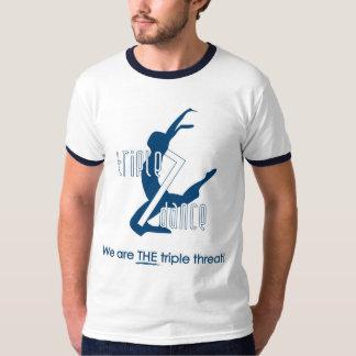 T-shirt Chemise de danse du triple 7 du papa