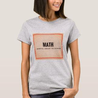 T-shirt Chemise de déclaration simple