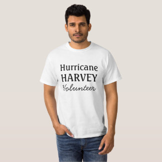 T-shirt Chemise de délivrance de volontaire de l'ouragan