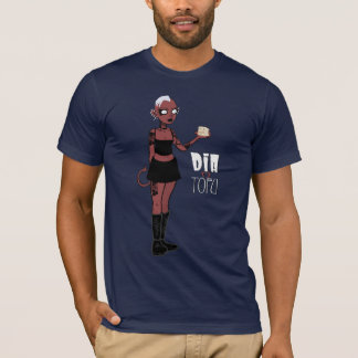 T-shirt Chemise de diamètre et de tofu (version de