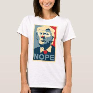 """T-shirt Chemise de Donald Trump """"NOPE"""""""