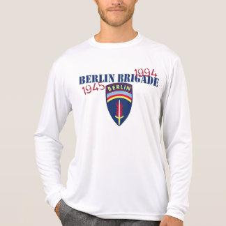T-shirt Chemise de douille de brigade de Berlin longue