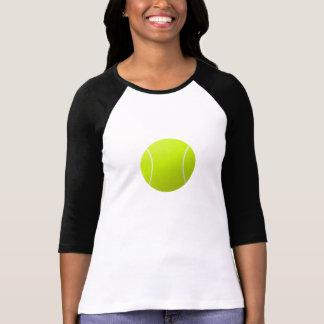 T-shirt Chemise de douille de la balle de tennis 3/4 des
