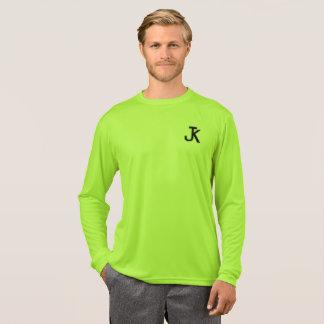 T-shirt Chemise de douille de logo de JK longue