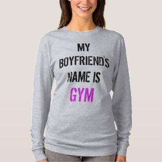 T-shirt Chemise de douille de séance d'entraînement de