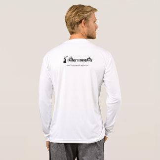 T-shirt Chemise de douille de Tek de sport de TFD longue