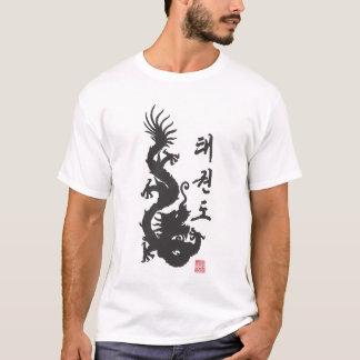 T-shirt Chemise de dragon de 301 le Taekwondo