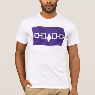 T-shirt Chemise de drapeau de Confederacy d'Iroquois