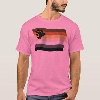 T-shirt Chemise de drapeau de confrérie d'ours