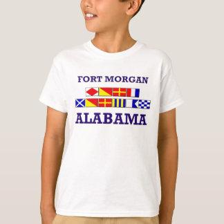 T-shirt Chemise de drapeau de Morgan de fort