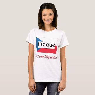 T-shirt Chemise de drapeau de République Tchèque de Prague