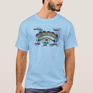 T-shirt Chemise de drapeau de Sioux de rivière de Cheyenne
