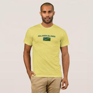 T-shirt Chemise de drapeau d'îles Salomon
