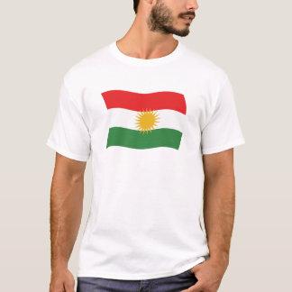 T-shirt Chemise de drapeau du Kurdistan