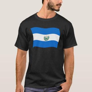 T-shirt Chemise de drapeau du Salvador